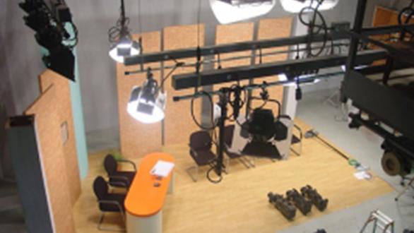 スタジオ設備(俯瞰)のイメージ